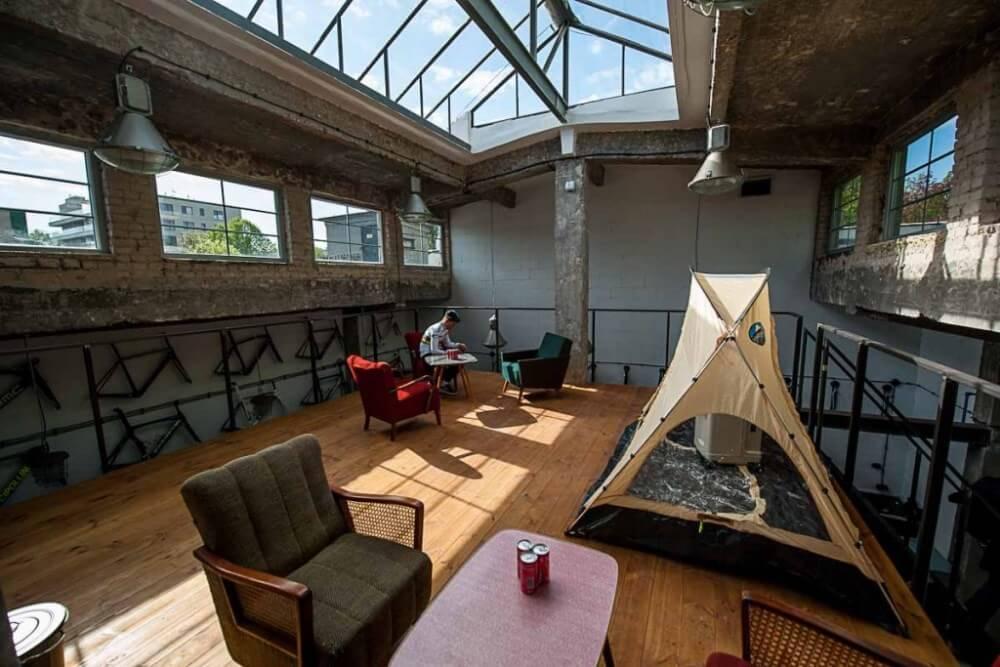 Projekt konstrukcyjny antresoli salonu rowerowego - fot. 04-03