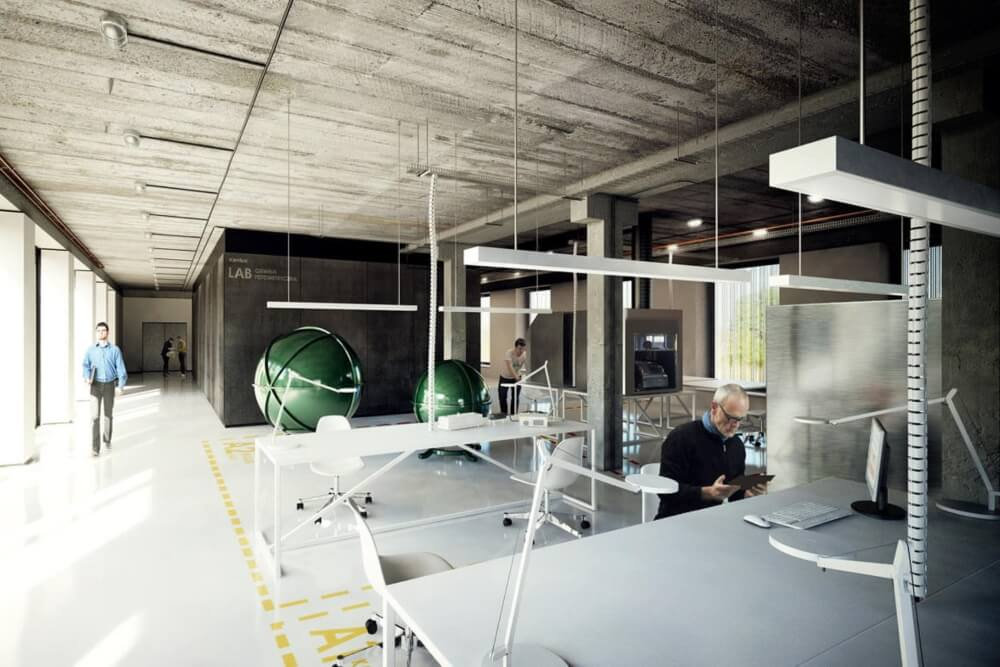 Projekt konstrukcyjny biurowca - wiz. 11-03