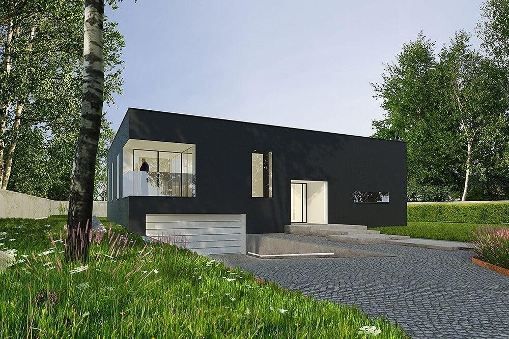 Projekt konstrukcyjny budynku jednorodzinnego j - wiz. 02-03