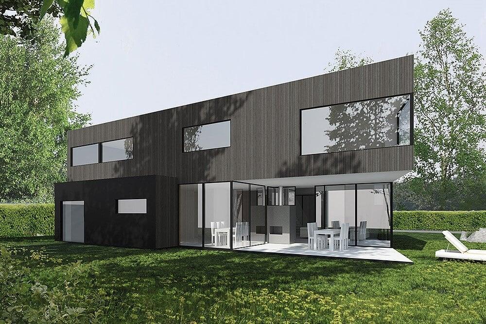Projekt konstrukcyjny budynku jednorodzinnego r - wiz. 01-03