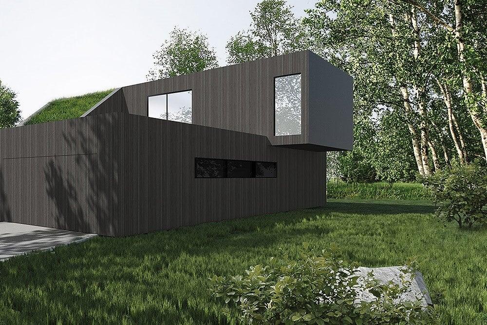 Projekt konstrukcyjny budynku jednorodzinnego r - wiz. 03-03