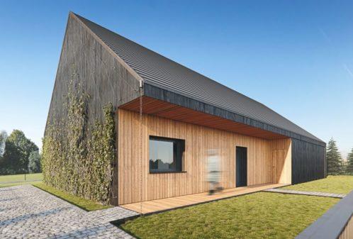 Projekt konstrukcyjny budynku jednorodzinnego w Smolnicy - wiz. 01-03