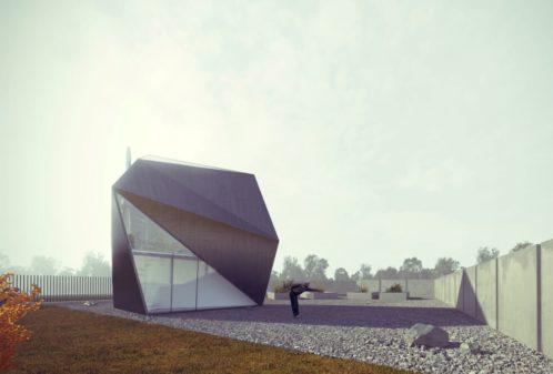 Projekt konstrukcyjny budynku rekreacyjnego - wiz. 01-03