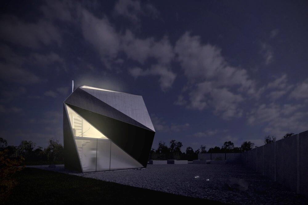 Projekt konstrukcyjny budynku rekreacyjnego - wiz. 02-03