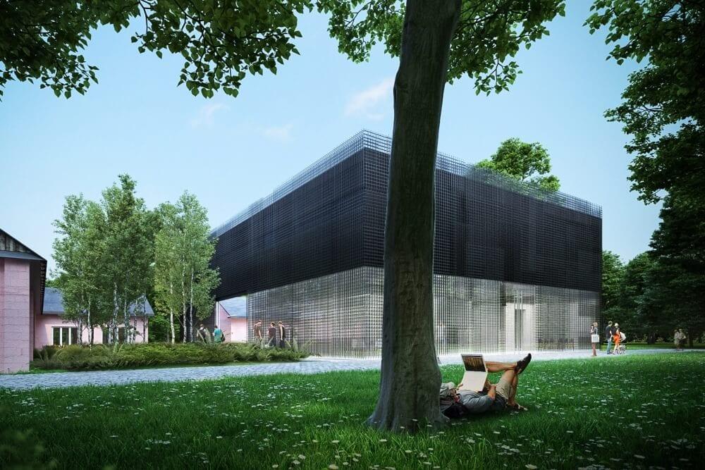 Projekt konstrukcyjny centrum badawczego - wiz. 01-03