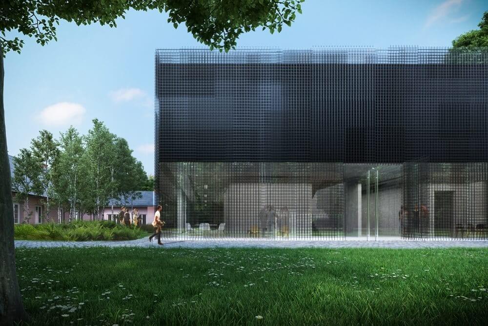 Projekt konstrukcyjny centrum badawczego - wiz. 02-03