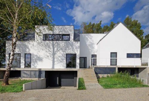 Projekt konstrukcyjny domów szeregowych - fot. 01-03