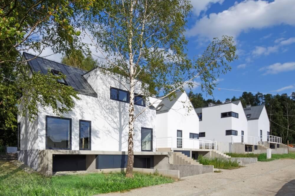 Projekt konstrukcyjny domów szeregowych - fot. 02-03