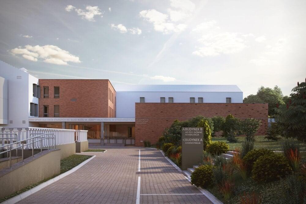Projekt konstrukcyjny domu opieki - wiz. 01-03