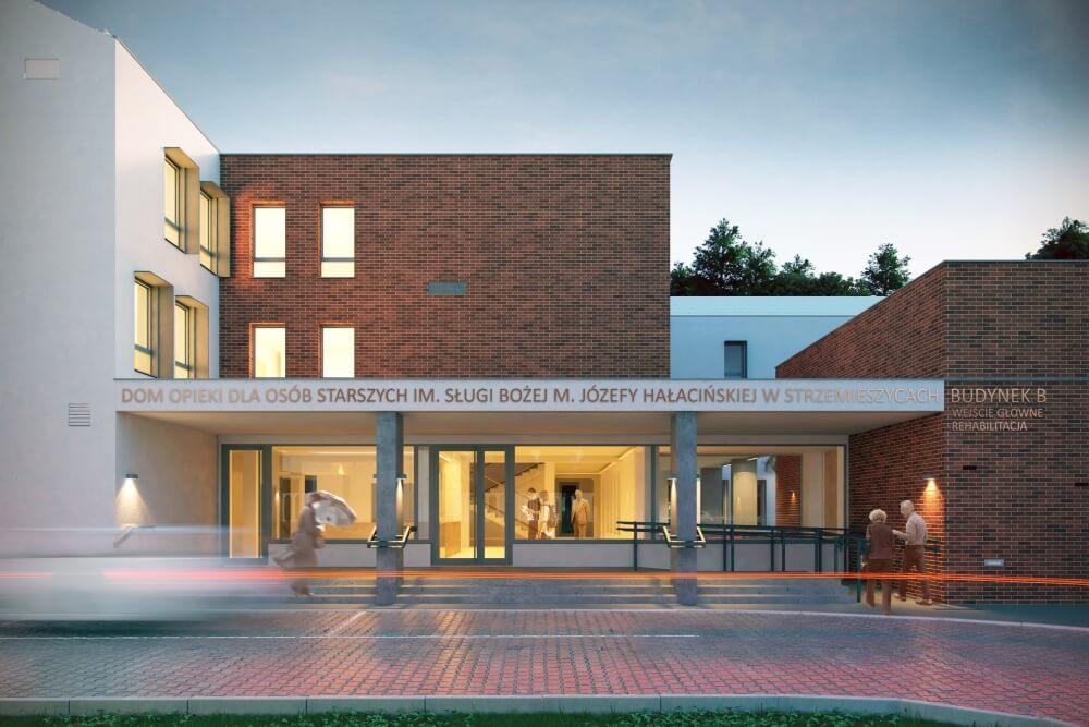 Projekt konstrukcyjny domu opieki - wiz. 02-03