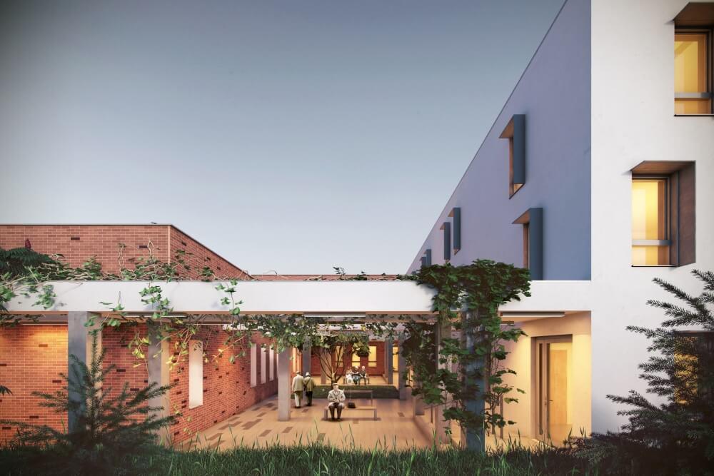 Projekt konstrukcyjny domu opieki - wiz. 05-03