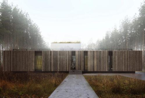 Projekt konstrukcyjny domu z basenem - wiz. 01-03