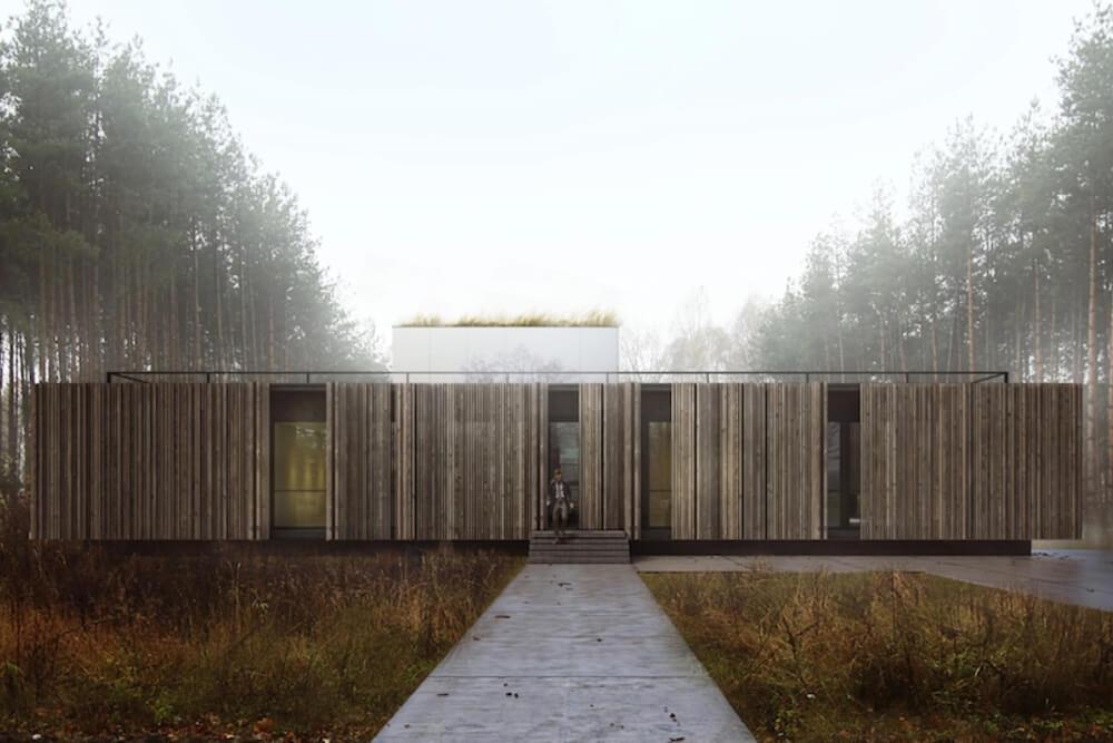Projekt konstrukcyjny domu zbasenem - wiz. 01-03