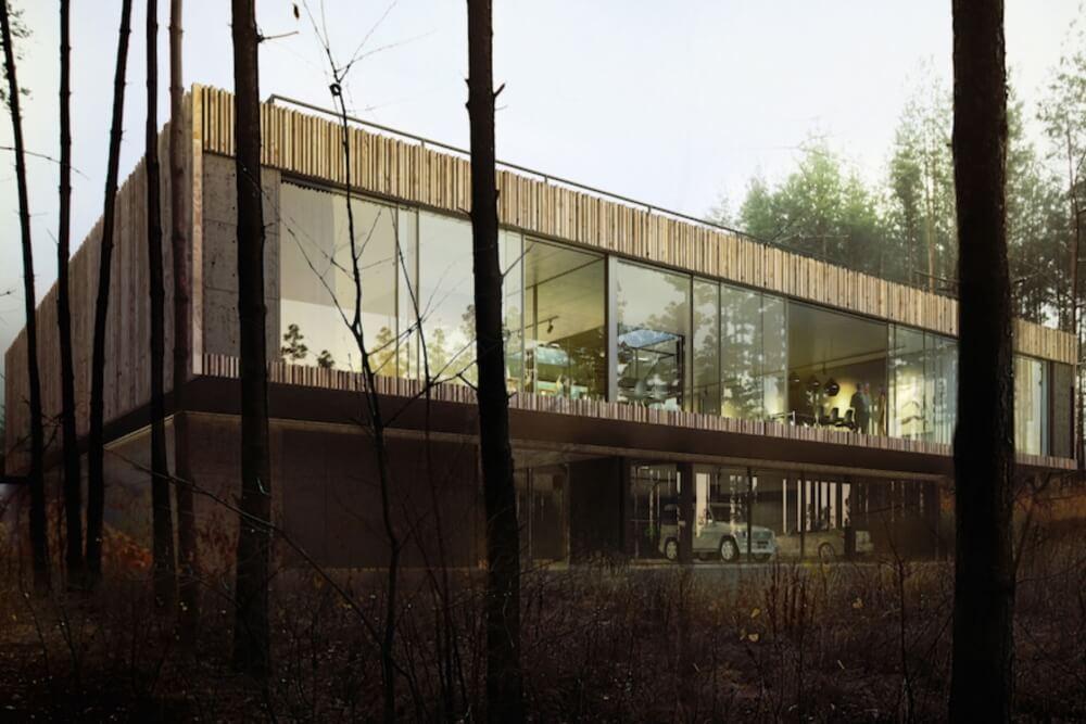 Projekt konstrukcyjny domu z basenem - wiz. 02-03