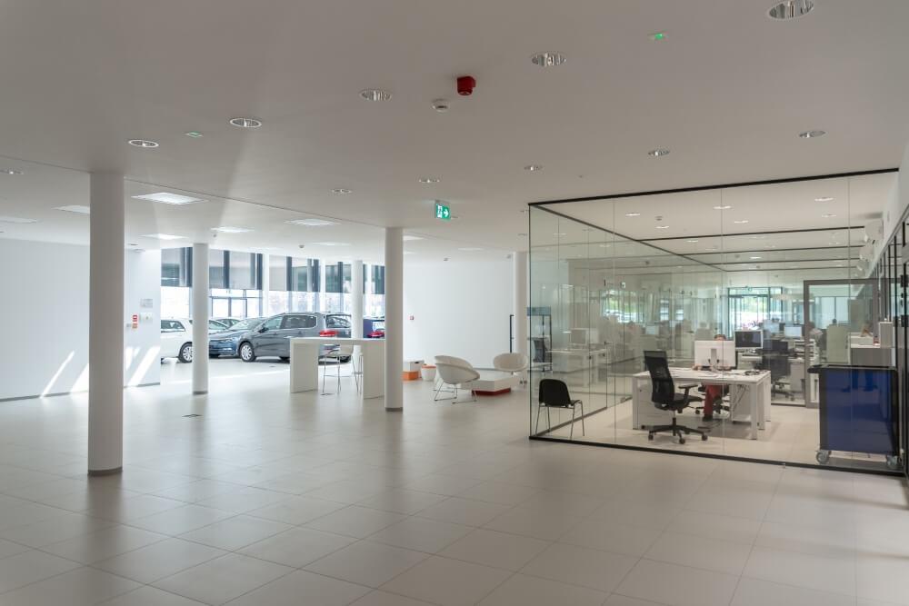 Projekt konstrukcyjny kompleksu obsługi samochodów - fot. 08-03