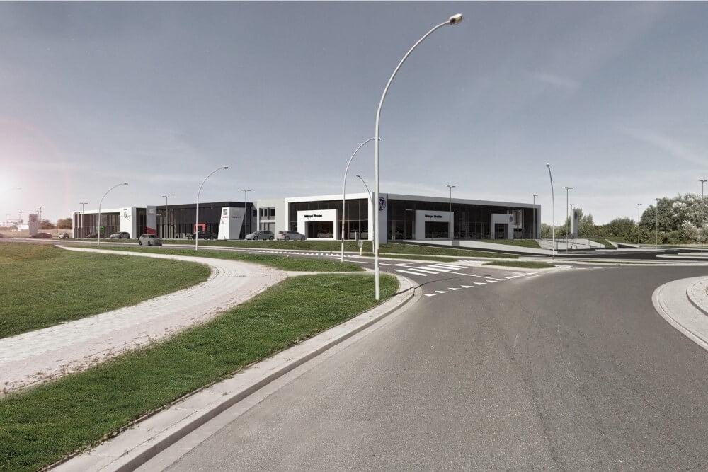 Projekt konstrukcyjny kompleksu obsługi samochodów - fot. 17-03