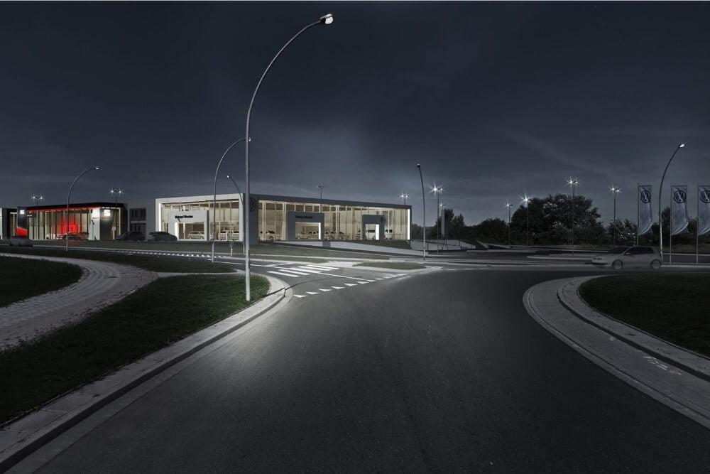 Projekt konstrukcyjny kompleksu obsługi samochodów - wiz. 18-03