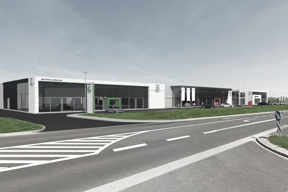 Projekt konstrukcyjny kompleksu obsługi samochodów - wiz. 20-03