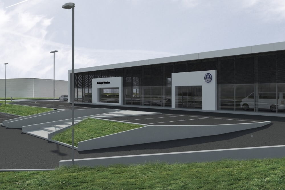 Projekt konstrukcyjny kompleksu obsługi samochodów - wiz. 22-03