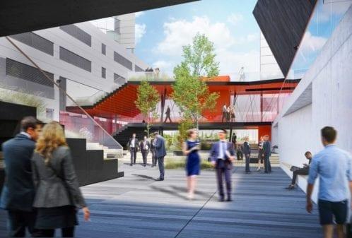 Projekt konstrukcyjny łącznika budynków - wiz. 01-03