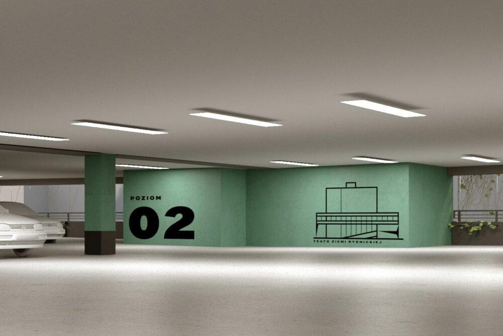 Projekt konstrukcyjny parkingu wielopoziomowego - wiz. 04-03