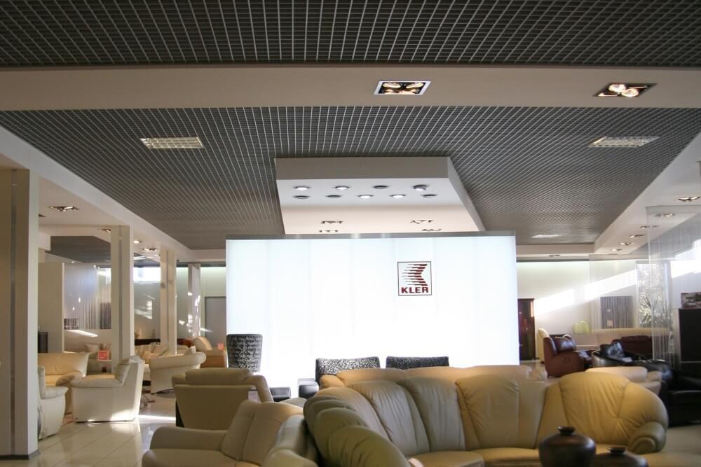 Projekt konstrukcyjny salonu meblowego - fot. 04-03