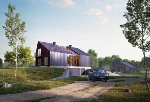 Projekt konstrukcyjny zabudowy zagrodowej - fot. 01-03