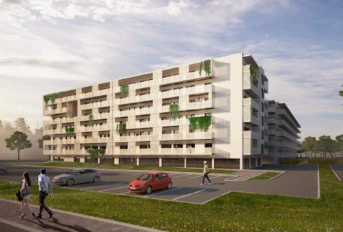 Projekt konstrukcyjny zespołu mieszkaniowego - wiz. 01-03