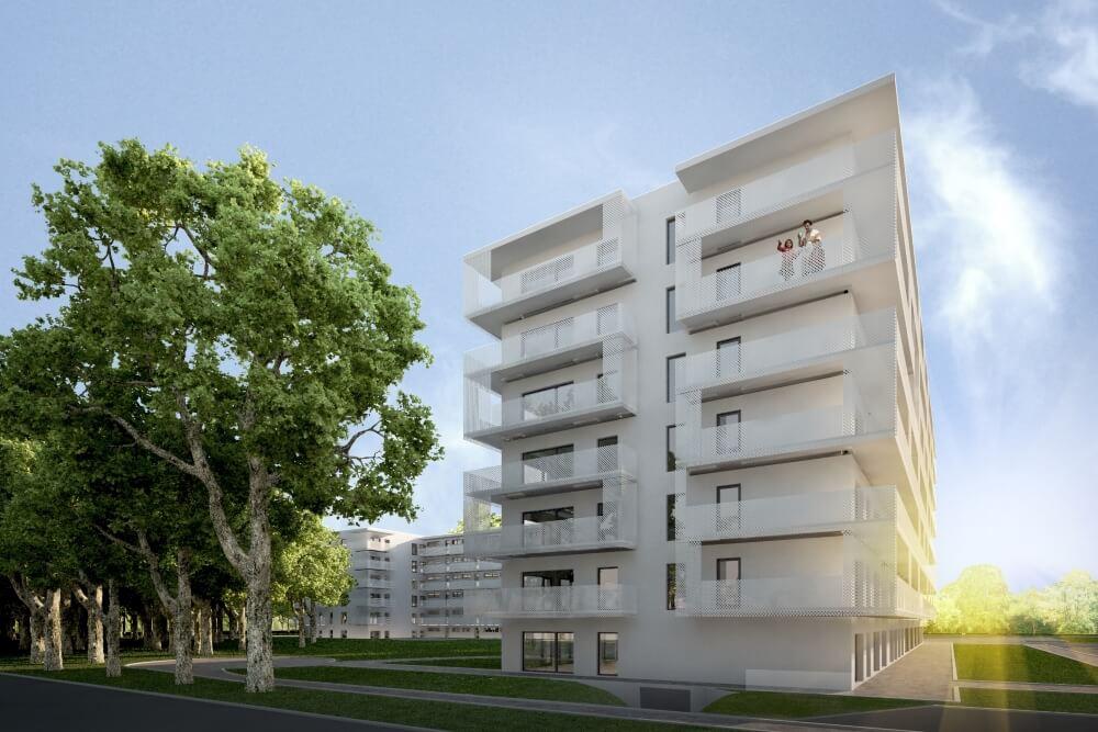 Projekt konstrukcyjny zespołu mieszkaniowego - wiz. 03-03