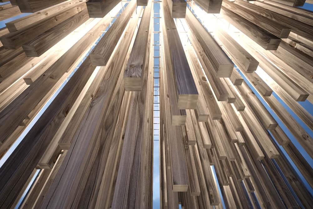 Konstruktionsprojekt der Kunstinstallation - Vis. 02-03