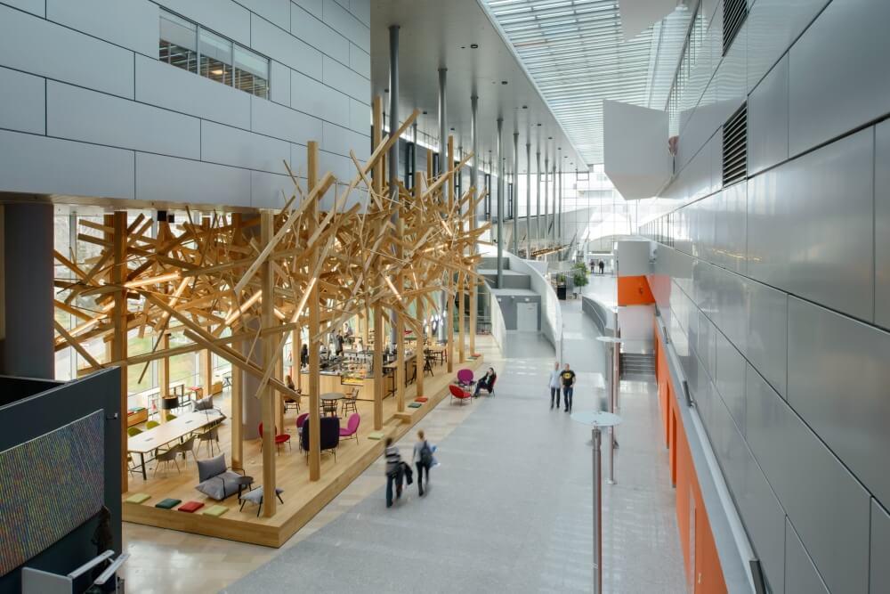Konstruktionsprojekt des Atriums der Bank - Fot. 02-03