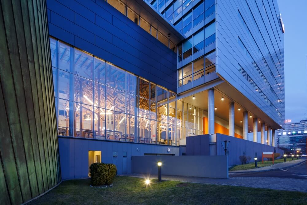 Konstruktionsprojekt des Atriums der Bank - Fot. 04-03