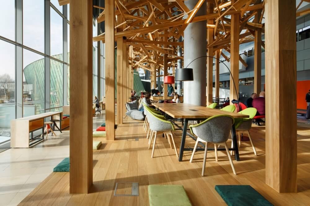 Konstruktionsprojekt des Atriums der Bank - Fot. 06-03