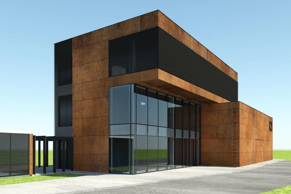 Konstruktionsprojekt des Ausstellungsgebäudes - Vis. 01-03