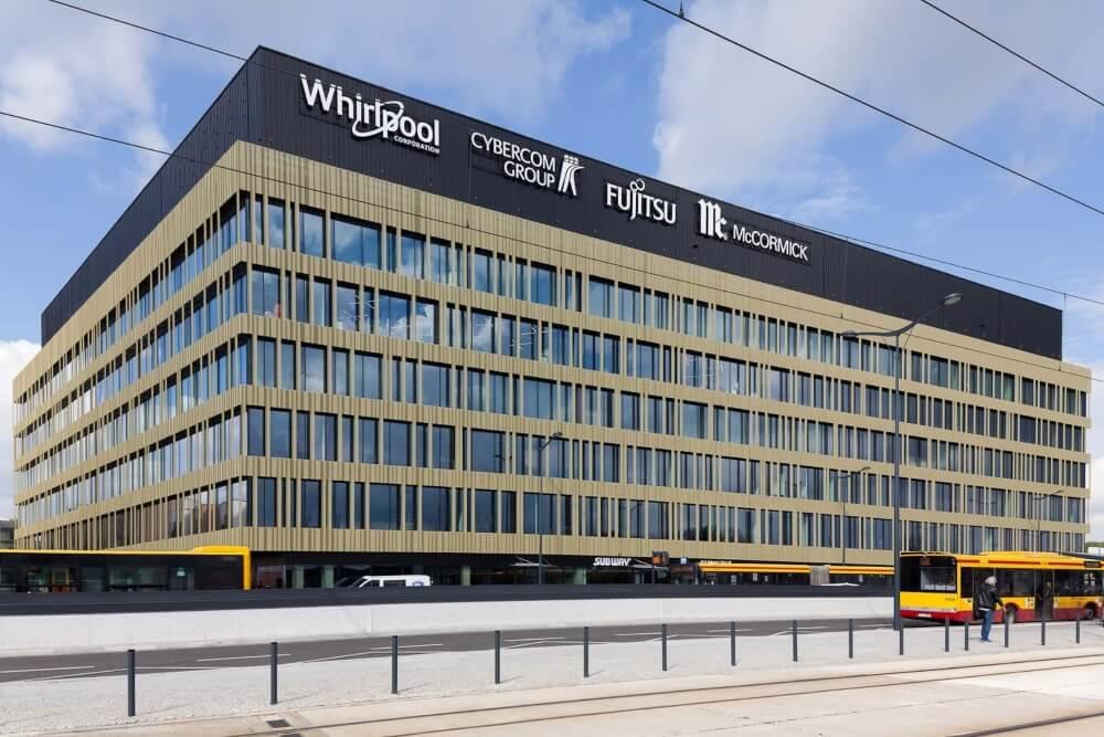 Konstruktionsprojekt des Bürogebäudes - Vis. 01-03