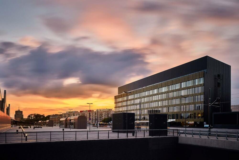 Konstruktionsprojekt des Bürogebäudes - Fot. 02-03