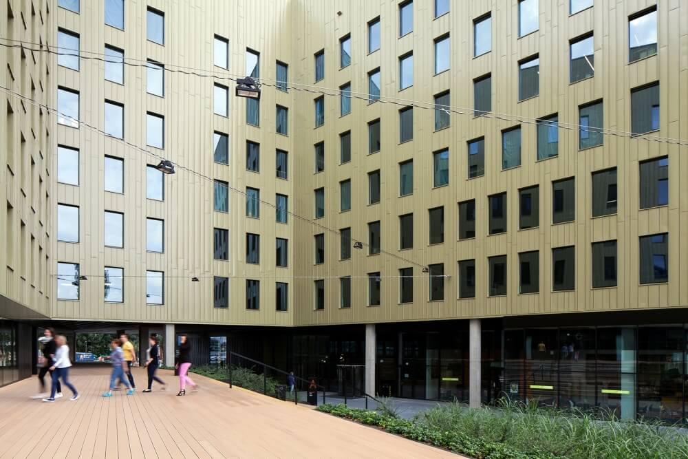 Konstruktionsprojekt des Bürogebäudes - Fot. 06-03