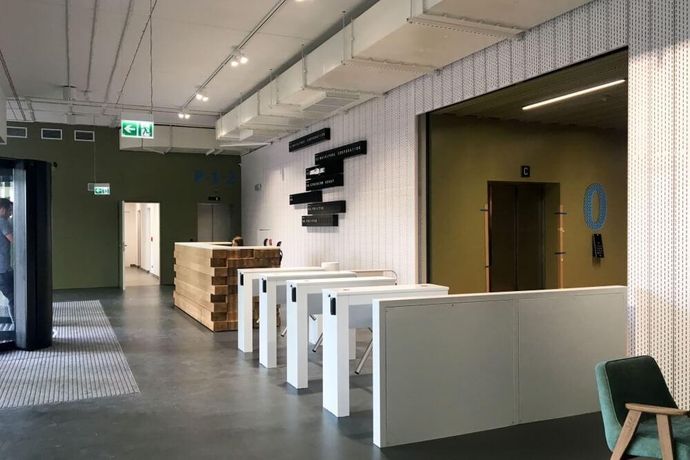 Konstruktionsprojekt des Bürogebäudes - Fot. 07-03
