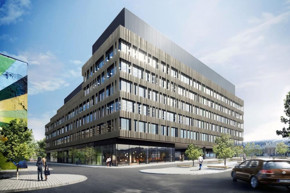 Konstruktionsprojekt des Bürogebäudes ENARGITE - Vis. 10-03