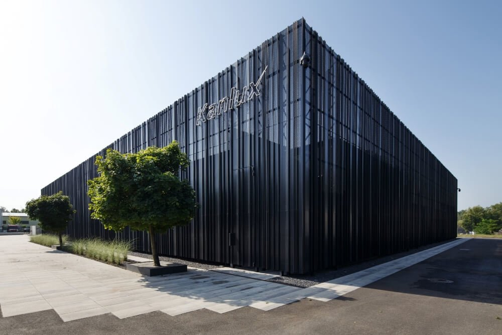 Konstruktionsprojekt des Bürogebäudes - Fot. 01-03