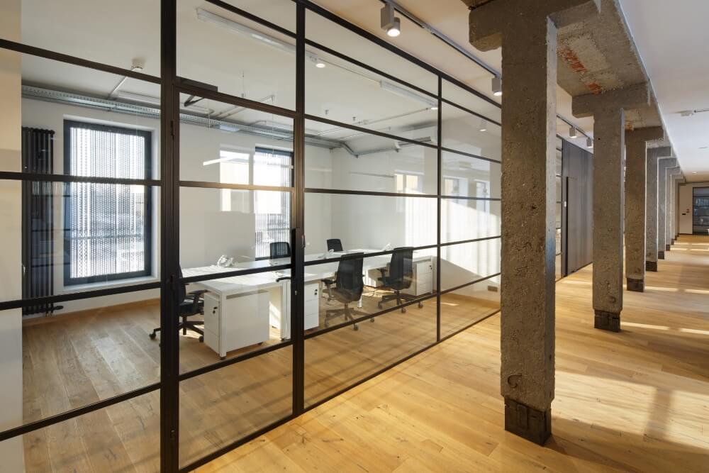 Konstruktionsprojekt des Bürogebäudes - Fot. 08-03