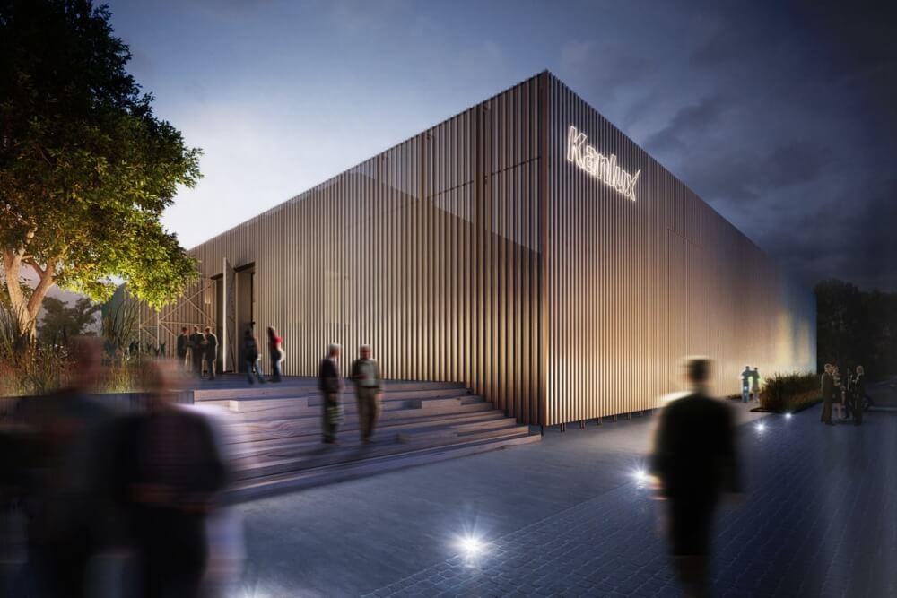 Konstruktionsprojekt des Bürogebäudes - Vis. 10-03