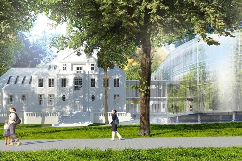 Konstruktionsprojekt des Bürokomplexes - Vis. 01-03