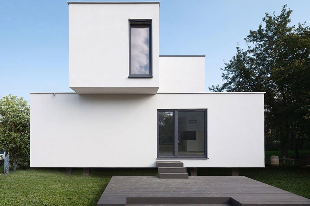 Konstruktionsprojekt des Einfamilienhauses - Fot. 01-03