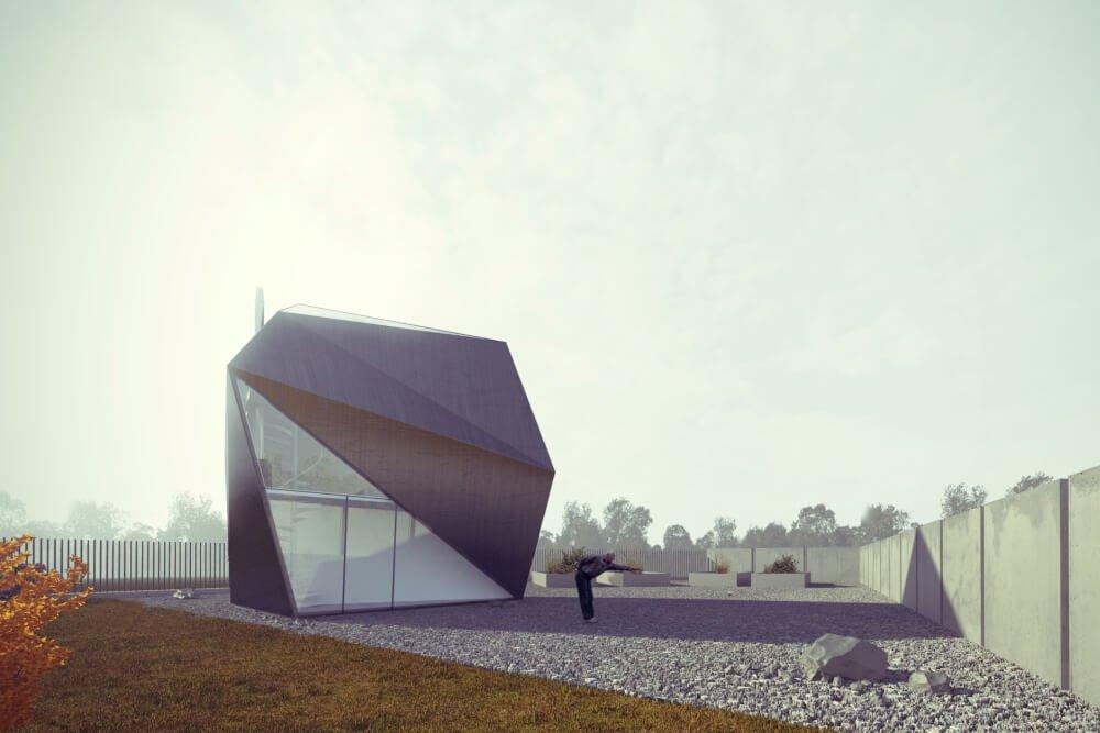Konstruktionsprojekt des Erholungsgebäudes - Vis. 01-03