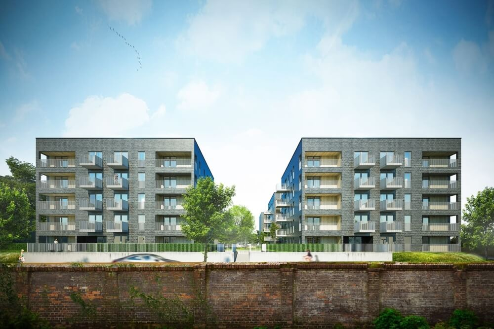 Konstruktionsprojekt des Gebäudekomplexes - Vis. 01-03