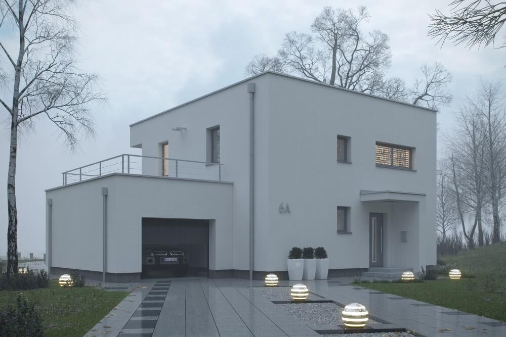 Konstruktionsprojekt des Hauses - Vis 01-03