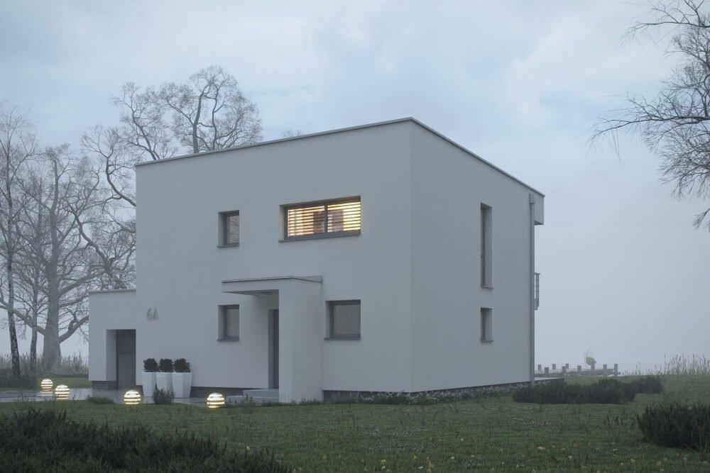 Konstruktionsprojekt des Hauses - Vis. 02-03