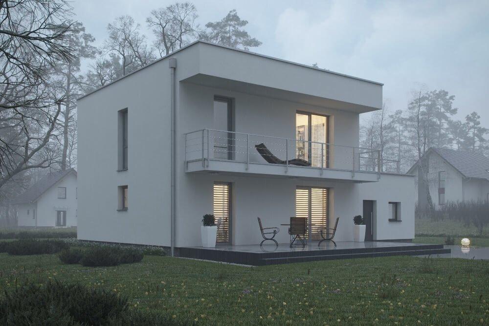 Konstruktionsprojekt des Hauses - Vis. 03-03