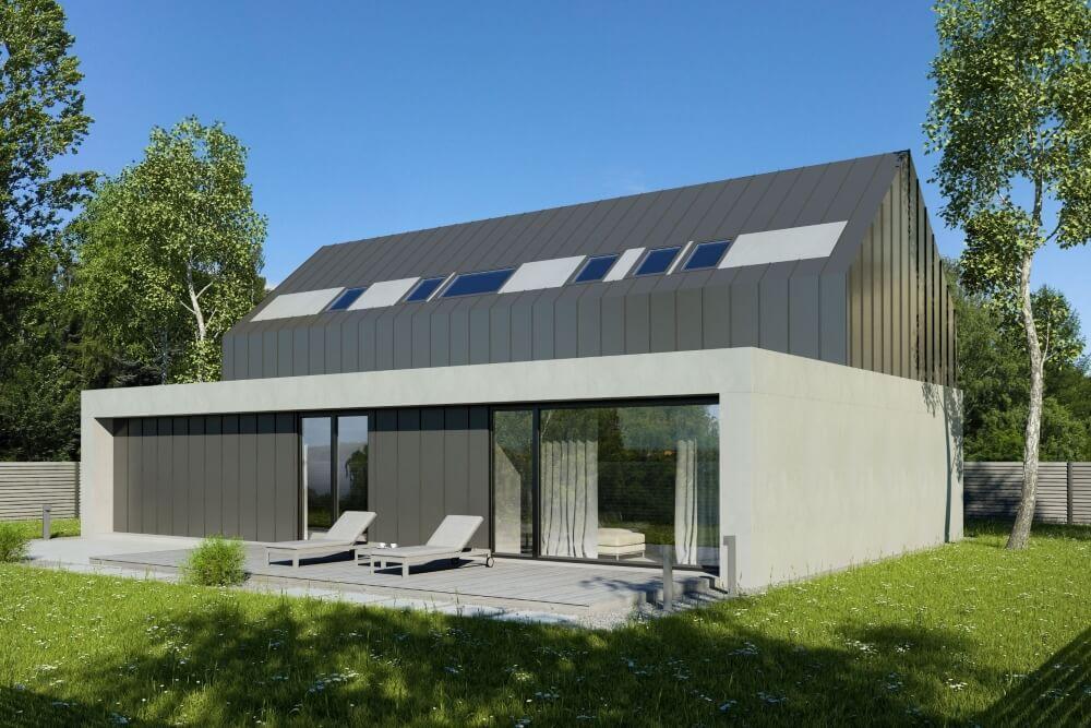 Konstruktionsprojekt des Hauses - Vis. 04-03